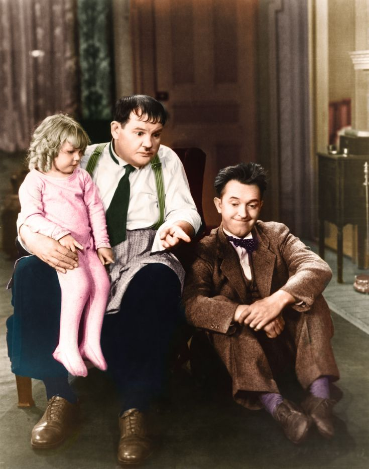 Laurel & Hardy (Pack Up Your Troubles)_02C.jpg (1670×2123)
