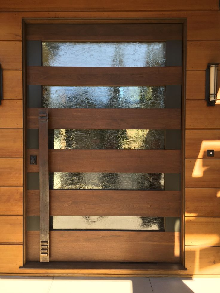 Steel & Wood Pivot Doors | Red Horse Custom Pivot Doors
