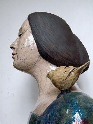 "Art Monie: Mélanie Bourget ""Sculptor ceramist"""