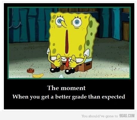 Last. exam.Life, Colleges, Sponge Bobs, The Face, Awesome Moments, Funny, Feelings, True Stories, Better Grade