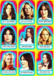 Charlies Angels Trading Stickers still have all mine