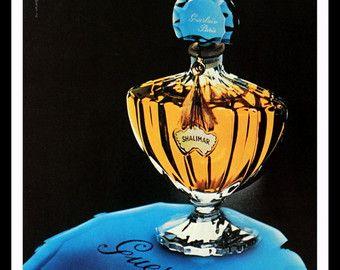 1958 Arpege Perfume Ad Lanvin Cartier Design by SnowFireCandleCo