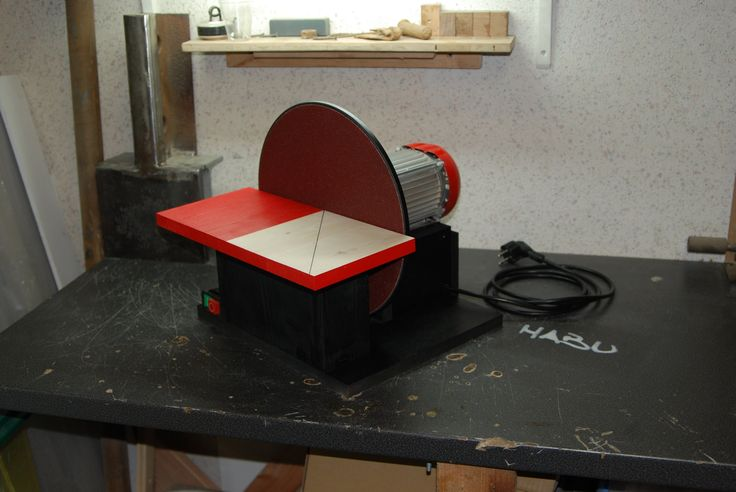 Freestyle DIY | A disc sander out of scrap