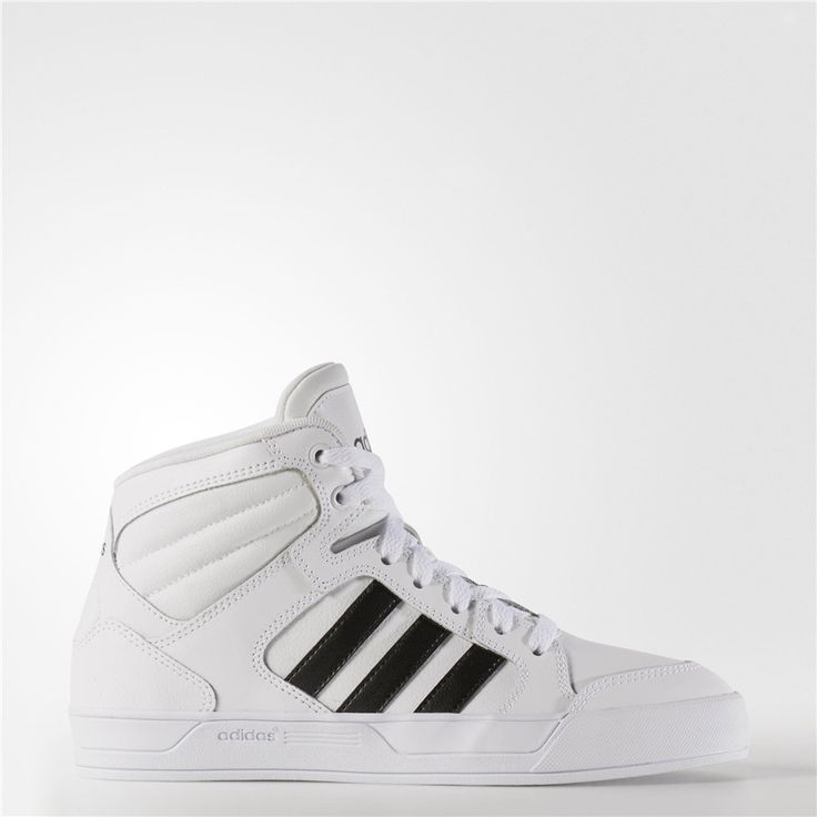 Adidas Raleigh Mid Shoes (Running White Ftw / Black / Running White)