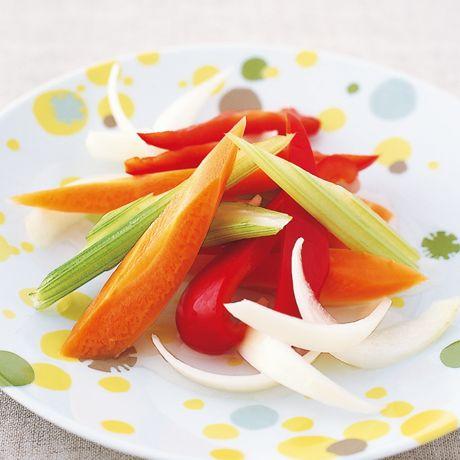 簡単ミックスピクルス   植松良枝さんの漬けものの料理レシピ   プロの簡単料理レシピはレタスクラブネット