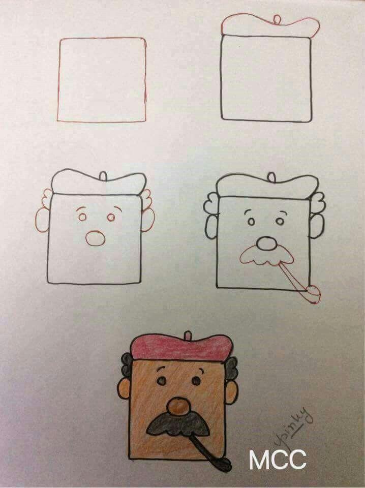 Favorito 41 best تعليم الرسم للأطفال insegnare ai bambini a disegnare  FX67