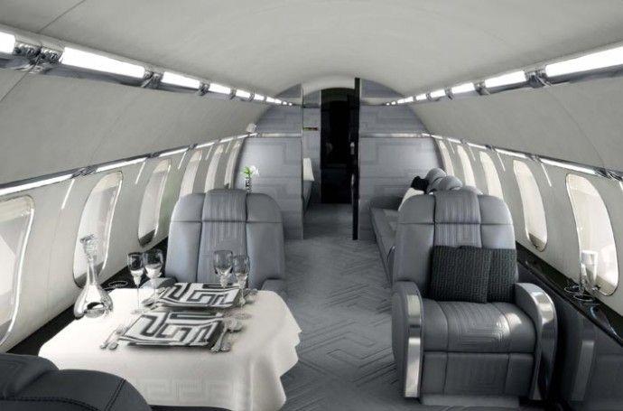 Les 54 meilleures images du tableau private jet sur for Interieur jet prive