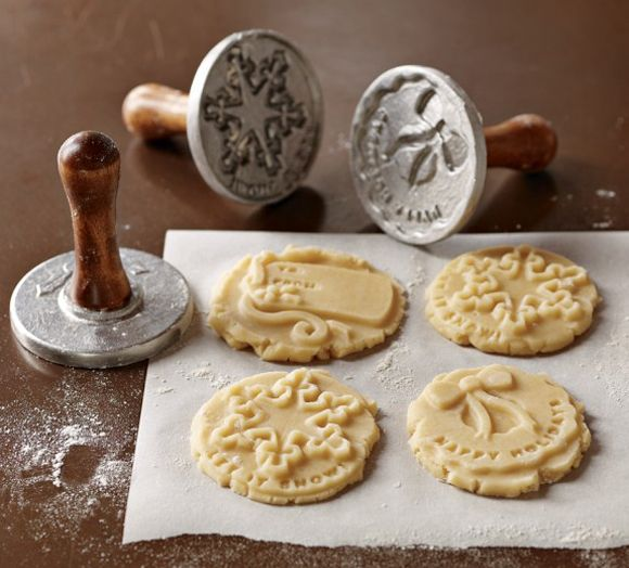 Holiday Cookie Stamps