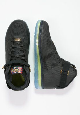 designer fashion accb6 1da6e ... Nike Sportswear AIR FORCE 1 CMFT LUX - Sneaker - blackmetallic gold -  Zalando