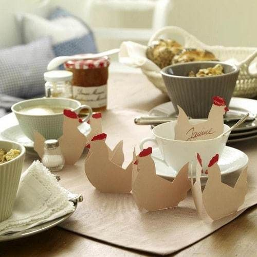60 décoration de table pour Pâques | Le Blog Deco Tendency
