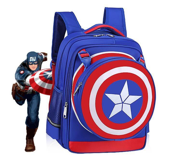 School Bag Orthopedic backpack Children School Backpacks Character Zipper Backpack For Kids Girls Boys
