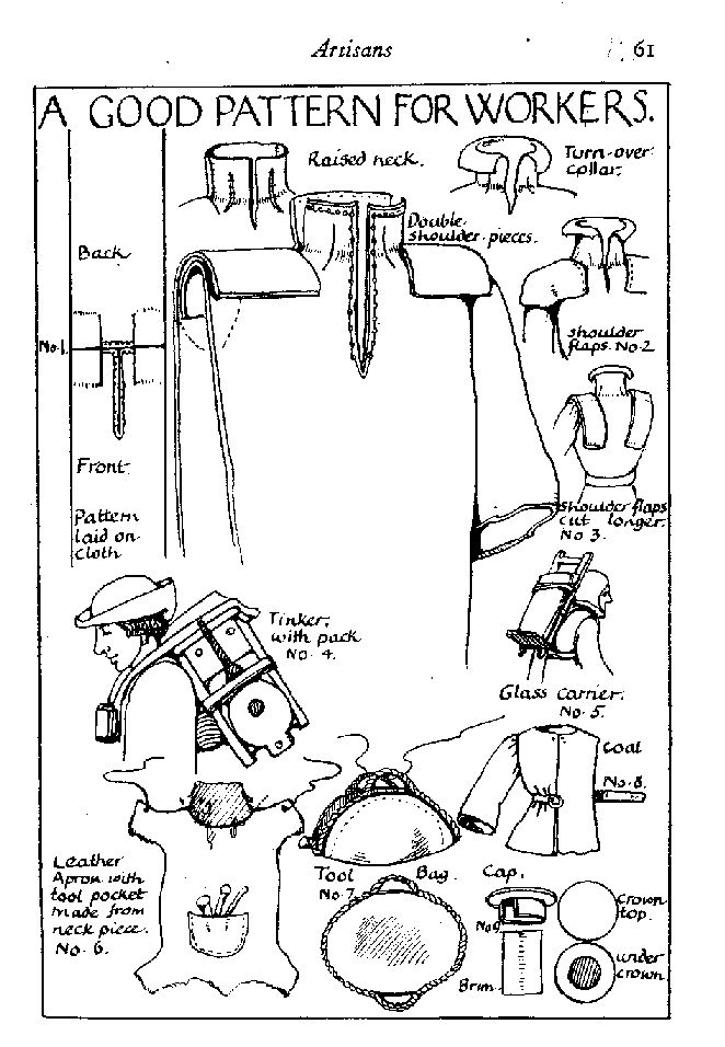 Medieval pattern for workers