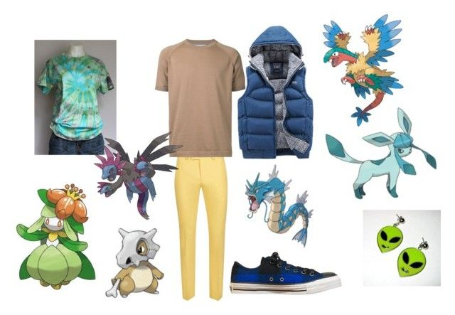 """Random Pokemon Generator #3"" by tardis-traveler ❤ liked on Polyvore featuring Topman and Estnation"