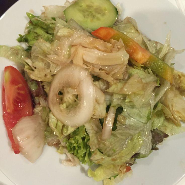 Balzsamecetes kevert saláta