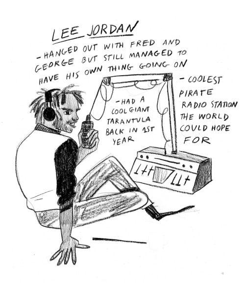 Underappreciated Harry Potter characters: Lee Jordan