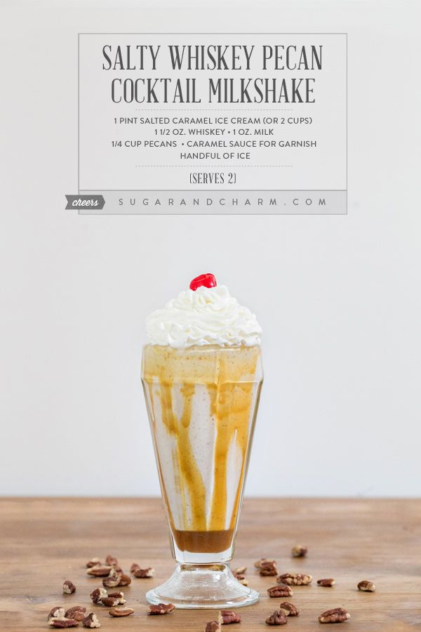 ... Cocktails on Pinterest | Salted caramels, Root beer floats and Cream