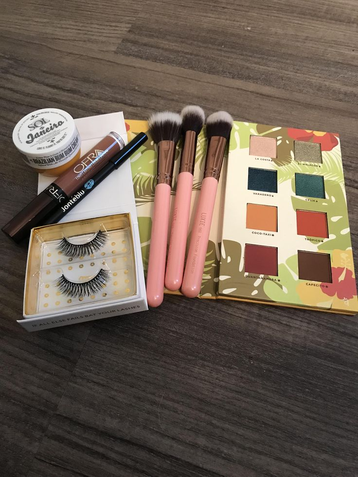 June Boxycharm! Loved this box! Shadows are pigmented and
