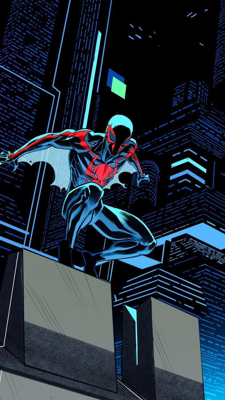 Future, Spider-man 2099, art Wallpaper | Spiderman artwork ...