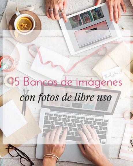 15 bancos de imágenes con fotos de libre uso para utilizar en tu diseño web, posts, moodboards, para plantillas o temas. No más quebraderos de cabeza. -------- #elaidesign #diseñografico #graphicdesign #blogging #diseñoweb #webdesign #blogger #wordpress