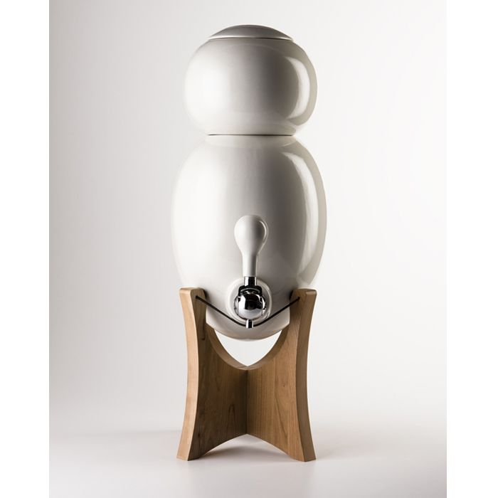 Ovopur's Ceramic Water Filter: beautiful, plastic free, amazing.