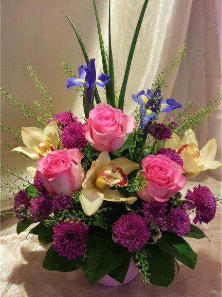 A flower arrangement called Omega