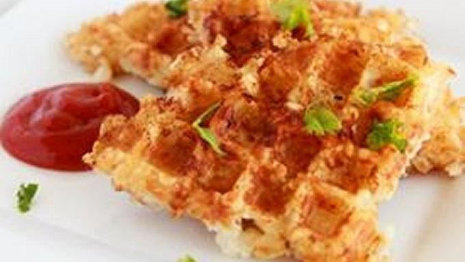 That waffle iron is a useful thang. Let it earn its keep when you use it for more than just waffles -- like for making HASHBROWNS!