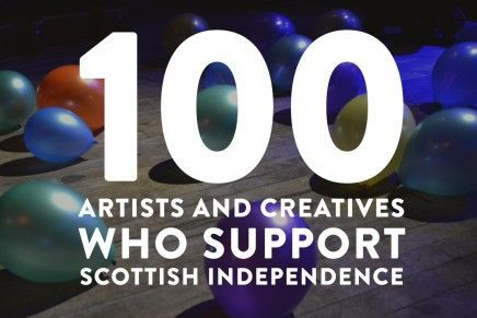 100+Artists+and+Creatives+Who+Support+Scottish+Independence