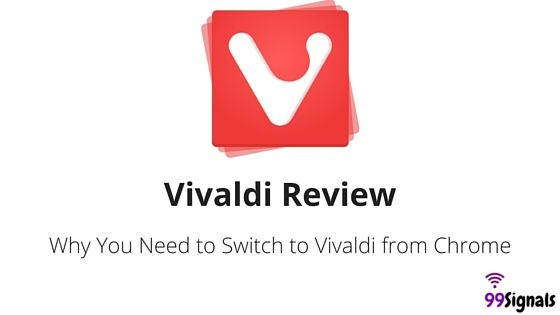 Vivaldi - the new browser in town