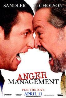 """Anger Management"" (dir. Pete Segal, 2003) --- Adam Sandler plays businessman Dave Buznik, who is wrongly sentenced to an anger-management program, where he meets aggressive instructor Dr. Buddy Rydell (Jack Nicholson). Plus Heather Graham appears in Red Sox lingerie!"
