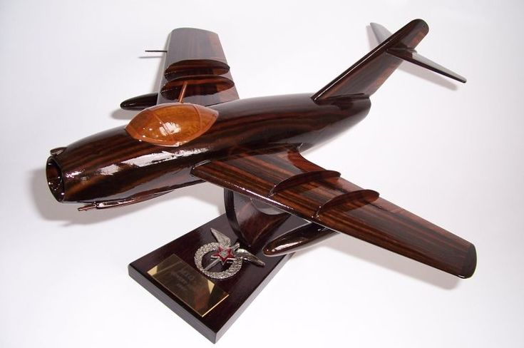 Airplane model MiG-15