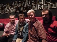 Lukáš Jansa, Lucie Štěpánková, Radek Lipus a Jaroslav Němec, fotil: David Vávra, Divadlo Viola, Praha, duben 2014