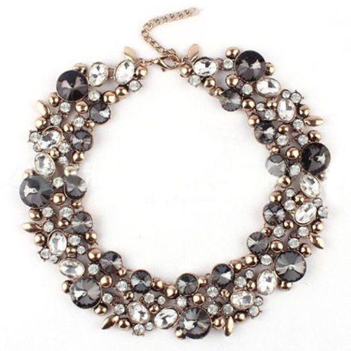 Gemstones choker necklace  #necklace #fashionjewelry #fashionjewellery #accesories