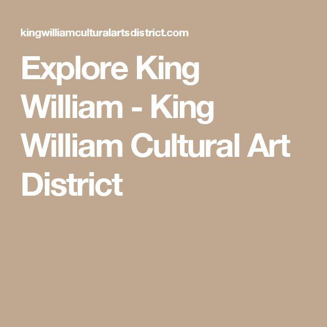 Explore King William - King William Cultural Art District