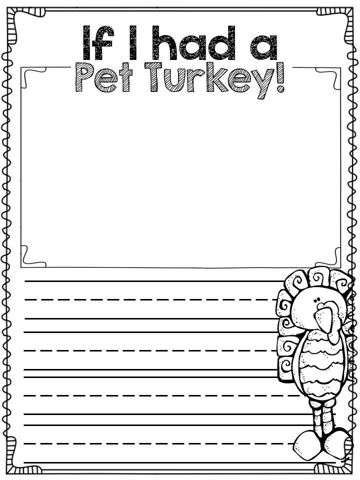 if I had a pet turkey....fun writing prompt!