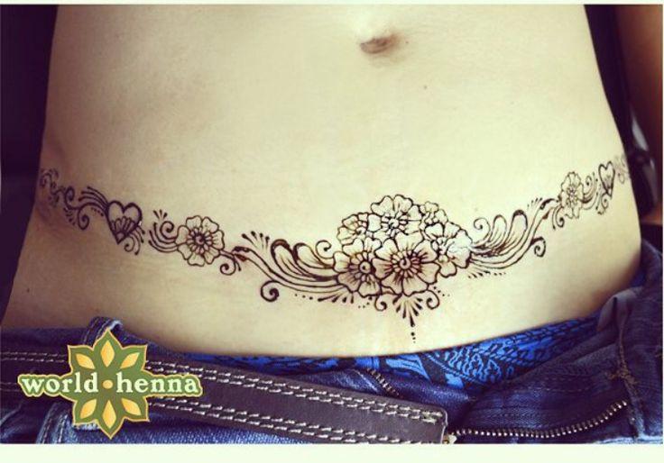 Tummy tuck / scar cover up / DIEP flap scar / tattoo