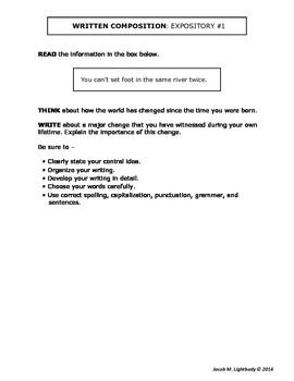 Examples of expository essays 4th grade