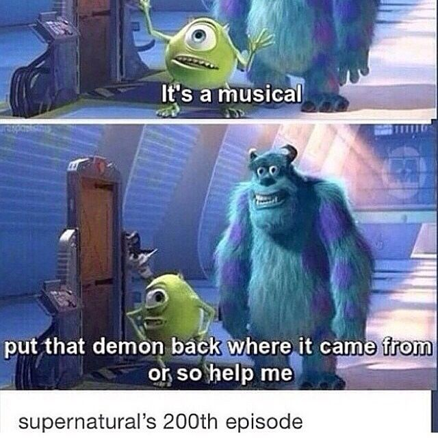 Or so help meh....if Dean ever gets possesed again if they kill dean ima cryyyy