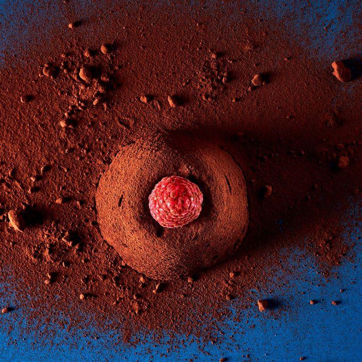 Hacher le chocolat, le faire fondre au bain-marie. Tamiser la farine. Mettre le beurre dans le bol d'un mixeur, mixer jusqu'à ce qu'il soit souple, ajouter le sucre, mixer encore 3 minutes, puis verser le chocolat fondu lentement sans cesser de fouetter. Incorporer les œufs un par un, ajouter la farine, mixer encore quelques secondes et laisser la pâte reposer 1 heure à température ambiante. Au bout de ce temps, allumer le four à 170 °C. Beurrer légèrement 12 moules en silicone de 5 cm de…