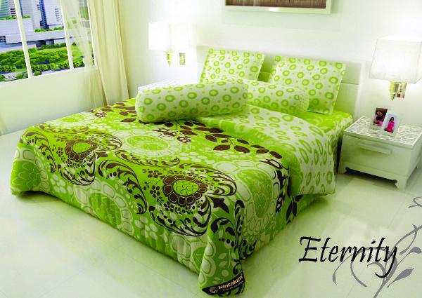 """ETERNITY - """"Sesuai dengan namanya warna hijau terkadang di sebut warna abadi yang selalu memberikan kesan segar. Motif abstract Eternity berpaduan warna cerah memberikan kesetiaan yang abadi"""""""