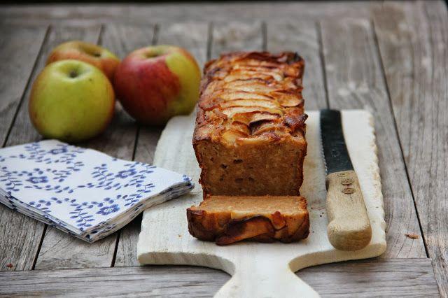 De smaak van Cécile: Gezonde appelcake