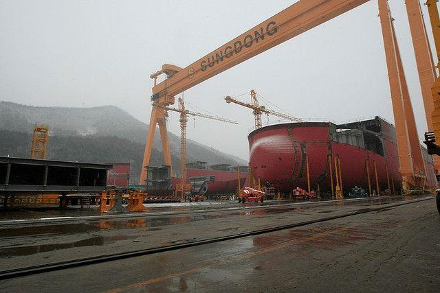 Sungdong Shipyards South Korea