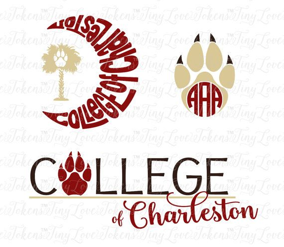 College of Charleston Design for Silhouette and by TinyLoveTokens
