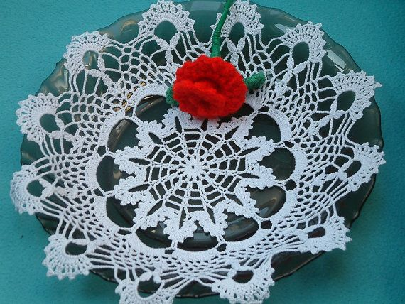 lace doilyCrochet doilies lace Dollie table by SweetMemoryy