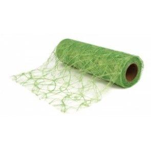 Faser-Seide: Modern , hellgrün, 60 cm, Rolle 25 m. preis pro meter.