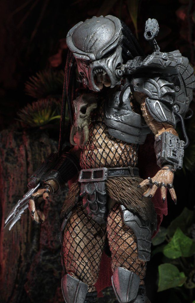 "NECA AHAB PREDATOR Ultimate 7/"" Scale Action Figure Dark Horse Comics ALIENS ALIEN VS PREDATOR"