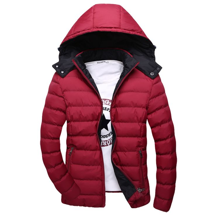 >> Click to Buy << 2016 New Arrival Autumn / Winter Men  Down Jacket Size M-5XL Fashion Trench Coats Hooded Design Man Casual Cotton Parkas #Affiliate