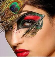 peacock woman