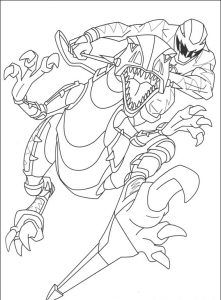 Imagens para pintar dos Power Rangers - 61