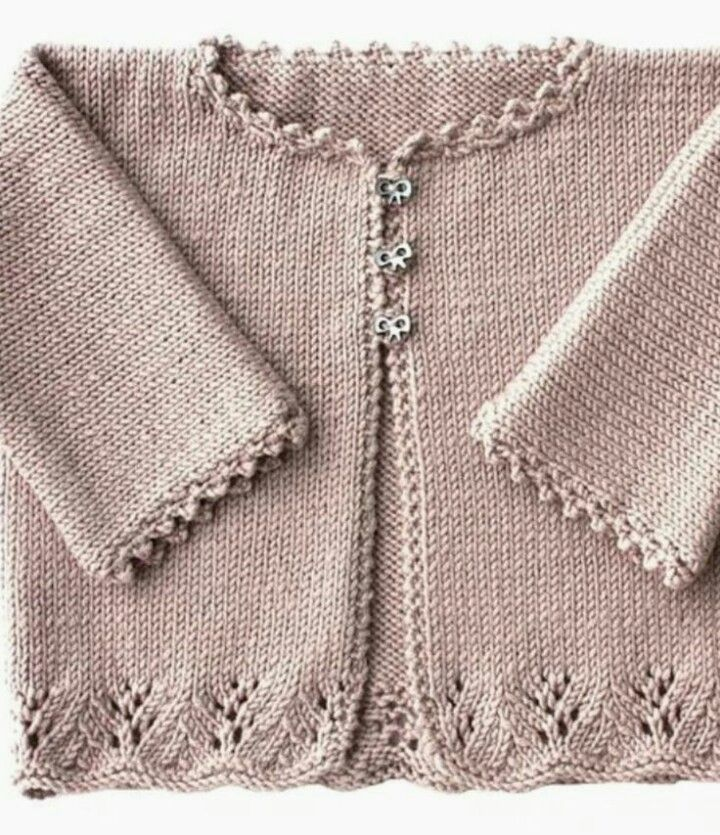 Lacy Cardigan with tiny bow buttons adorable..