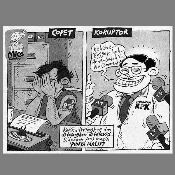 Hendri Teja: MEREKA BILANG KANGMAS KORUPSI